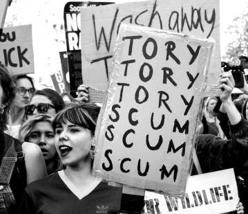 Anti Austerity Protest, London, 2015