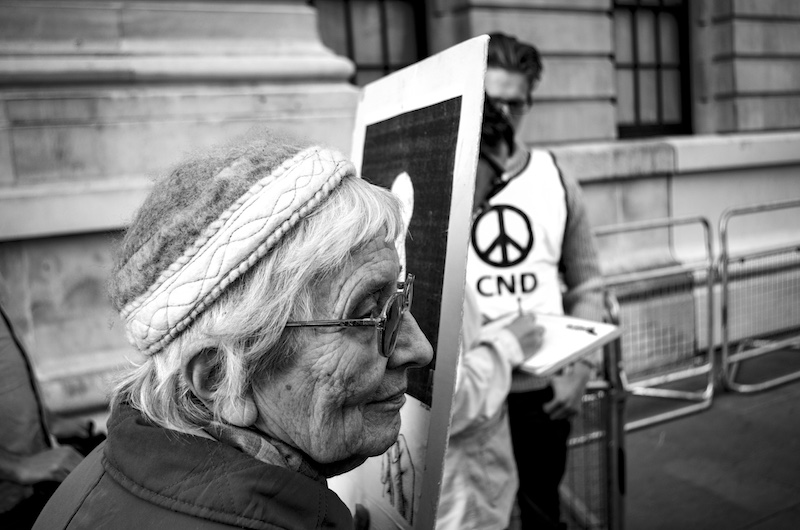 Anti-Trident CND Protest, 2015