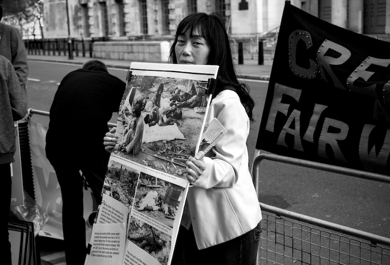 Anti-Trident CND Protest, 2015